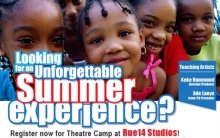 Theatre Summer Camp For Kids at RUE14 Studios