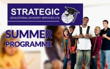 Summer Programme 4th July -19th August