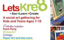 Let's Create - 3 day Art and Craft Workshop  (4-6 April)